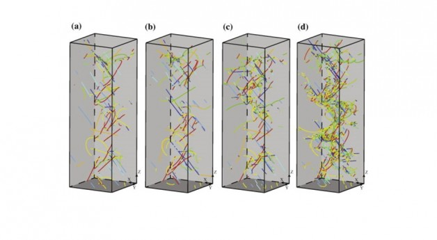 Microstructurally based cross-slip mechanisms and their effects on dislocation microstructure evolution in fcc crystals
